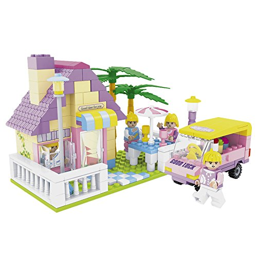 ausini-casitas-juego-de-construccion-270-piezas-colorbaby-42248