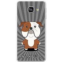 anglais Dessin animé Chiens téléphone Housse/Coque rigide pour téléphone portable Samsung, plastique, English Bulldog, British, Samsung Galaxy A3 (2016) (A310F)