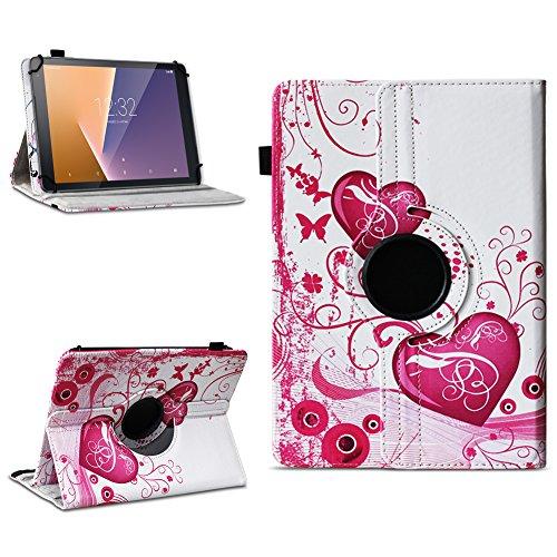 Tasche für Vodafone Tab Prime 7 Tablet Hülle Schutzhülle Case 360° Drehbar Cover, Farben:Motiv 6
