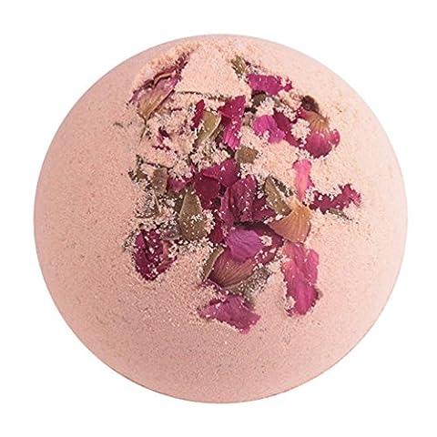 OVERMAL Organe De Sels De Bain En Mer Profonde Huile Essentielle De Perle De Bain Bain Moussant Bombes Ballon Naturel-Rose