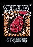Metallica St Anger Logo Neue offizielle Textil Poster 75cm x 110cm