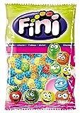Fini Football Gomme da Masticare Colorate. Bubble Gum Gusto Frutta a forma di Pollone da Calcio. Senza Glutine e 0% di Grassi. Ideale per Feste di Compleanno e Caramellate. Busta da 1Kg
