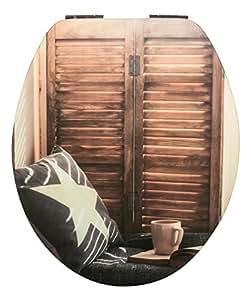 wc sitz high gloss dekor chill out lounge toilettensitz wc brille aus holz soft close. Black Bedroom Furniture Sets. Home Design Ideas
