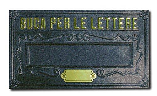 Alubox a8gh placa bucalettere Serie como latón barnizado, fundido