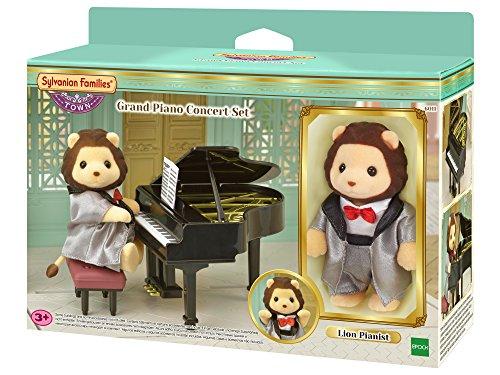 Sylvanian Families 6011 Klavierkonzert Set (inkl. 1 Figur), Mehrfarbig