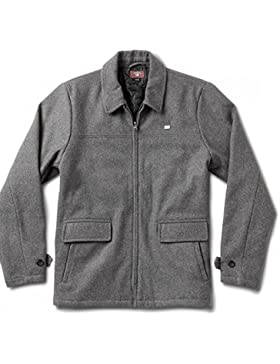 CHAQUETA FOURSTAR GONZ UTILITY COAT CHARCOAL HEATHER