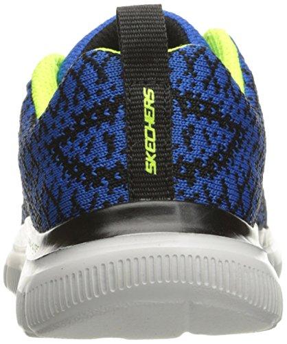 Skechers Jungen Flex Advantage 2.0-Golden Poi Sneakers Blau (Rybk)
