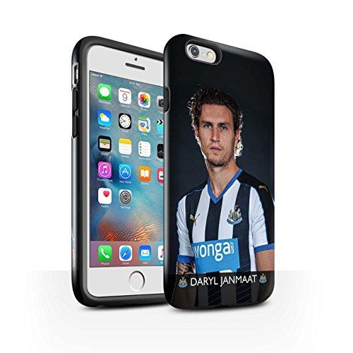 Officiel Newcastle United FC Coque / Brillant Robuste Antichoc Etui pour Apple iPhone 6+/Plus 5.5 / Elliot Design / NUFC Joueur Football 15/16 Collection Janmaat