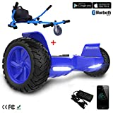 COLORWAY Hoverboard Elettrico Scooter a 8 Pollici con Bluetooth & LED Auto...