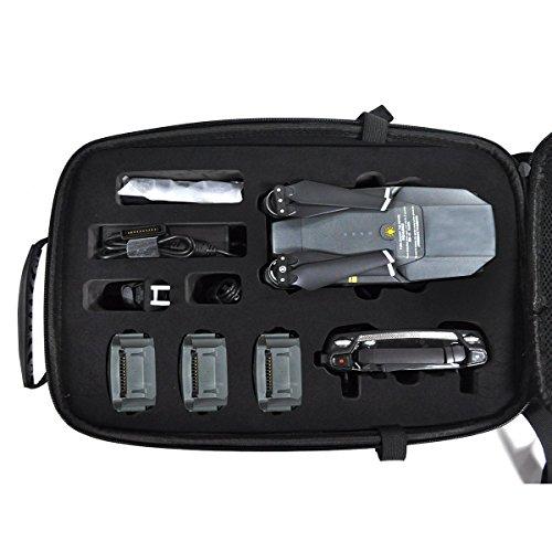 Hardshell Carbon Rucksack Wasserdichte Koffer für DJI Mavic FPV Quadcopter - 2
