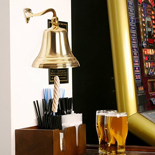 Brass Bell Small 4inch - Ships Bell, Pub Bell, Wall for sale  Delivered anywhere in UK