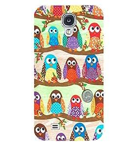 Citydreamz Owl\Cartoon Hard Polycarbonate Designer Back Case Cover For Samsung Galaxy S4
