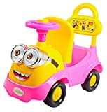 #7: Baybee Minion Stylish Ride-on Car (Pink)