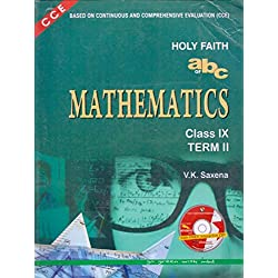 Holy Faith abc of Mathematics Term II Class - 9