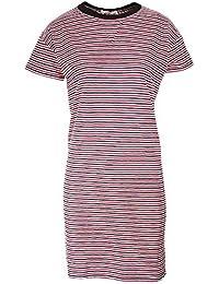 Rag & Bone Racer Dress in Navy Stripe