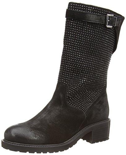 Spm Folli 3/4 Boot, Bottines avec doublure intérieure femme Noir - Schwarz (Black/Black)