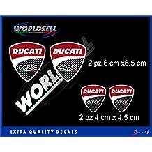 Pegatinas 4PZ Ducati Corse PANIGALE MONSTER 1098 1198 848 748 HYPERMOTARD