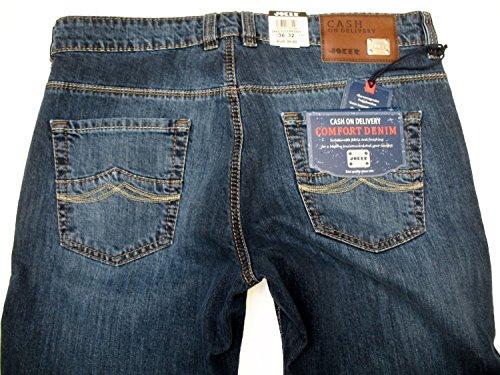 JOKER Herren Stretch Jeans Freddy Blue