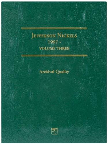 Littleton LCF26 1997-2008 Jefferson Nickel Folder, Volume 3 - Volume Folder