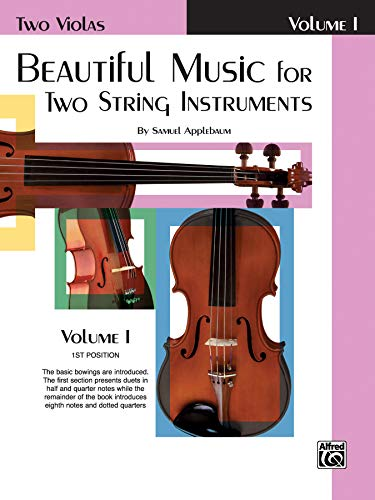 Beautiful Music for Two String Instruments, Bk 1: 2 Violas (Worlds 2-anleitung Two)