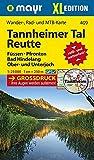 Mayr Wander- und Bikekarte Reutte, Tannheimer Tal. 1:25.000 (Großdruck) -