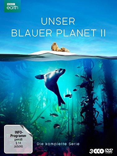 """UNSER BLAUER PLANET II - Die komplette ungeschnittene Serie zur ARD-Reihe """"Der blaue Planet"""" [3 DVDs]"""