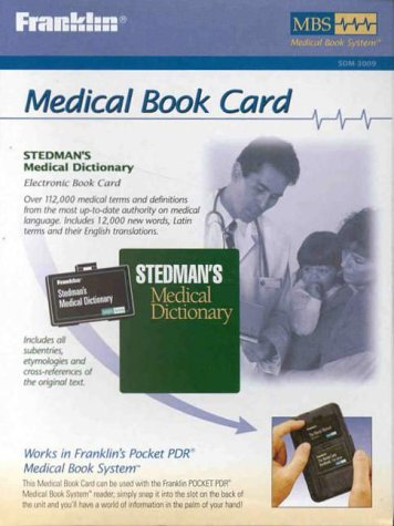 Stedman's Medical Dictionary: Electronic Book Card