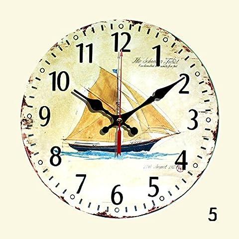 nllpjmf silenzioso orologio da parete Home decoration-8-inch