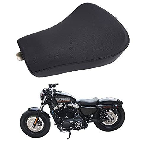 aochuang Front Driver Solo Seat Cushion For Harley Sportster Forty Eight XL 1200 883 72 48