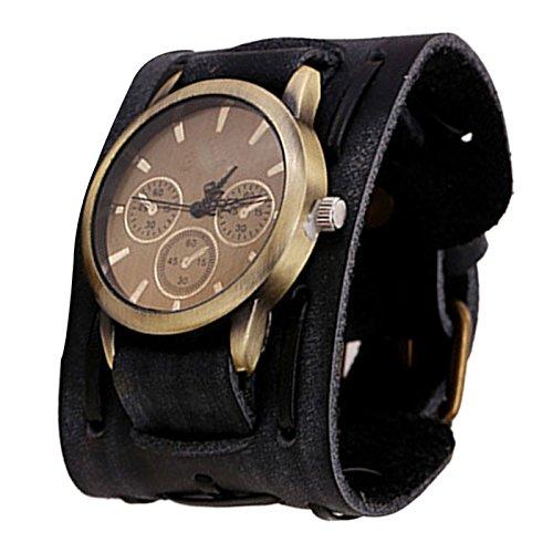oyedens-retro-style-punk-rock-brown-big-wide-leather-bracelet-cuff-men-wrist-watch-black