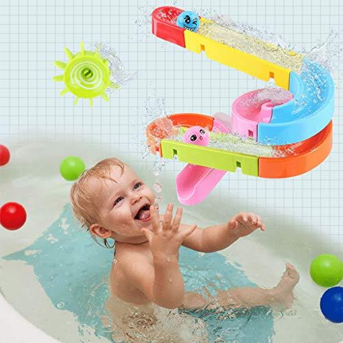 Neue Saugnapf Bahnen Spur Badespielzeug Kinder Bad Badewanne Wasser Spiele Dusche Spiele Schwimmbad Wasserfall Spielzeug Für Baby Geschenk 06.09 (Color : A) (Geschenke Baby-dusche-spiele Für)