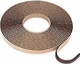 "CRL Black 1/20,3cm ""x 3/20,3cm Butyl Architectural tape–24rotoli"