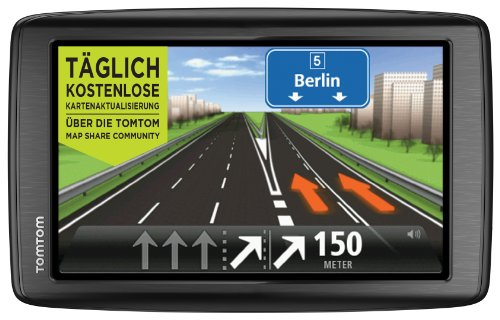 TomTom Start 60 Europe Traffic Navigationssystem (15 cm (6 Zoll) Display, TMC, Fahrspur- und Parkassistent, IQ Routes, Favoriten, Europa 45)