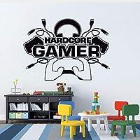 Zybnb Pegatina De Pared Hardcore Gamer Tatuajes...