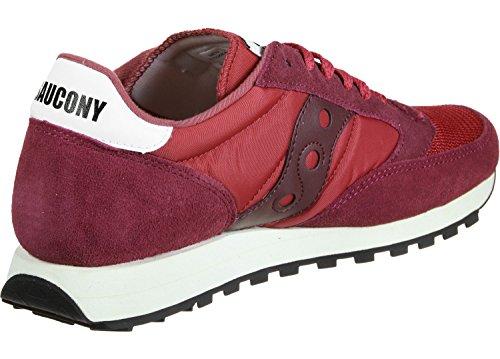 Saucony Jazz Original Vintage, Sneaker Uomo Rosso
