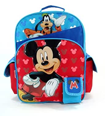 """Disney - Mickey Mouse Large 16"""" Backpack - Hide & Seek with Goofy [Toy]"""