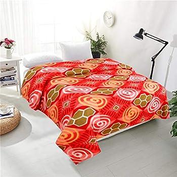 RD TREND Fleece Warm bedsheet/Blanket Double Bed :90 X 90 Inch