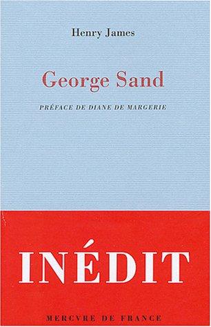 George Sand par Henry James