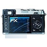 atFoliX Displayschutzfolie für Fujifilm FinePix X100S Schutzfolie - 3 x FX-Clear kristallklare Folie