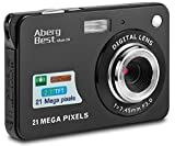 AbergBest Appareil Photo 21 Mega Pixels 2.7 LCD Rechargeable HD Digital Camera...