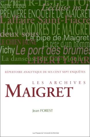 Les archives Maigret