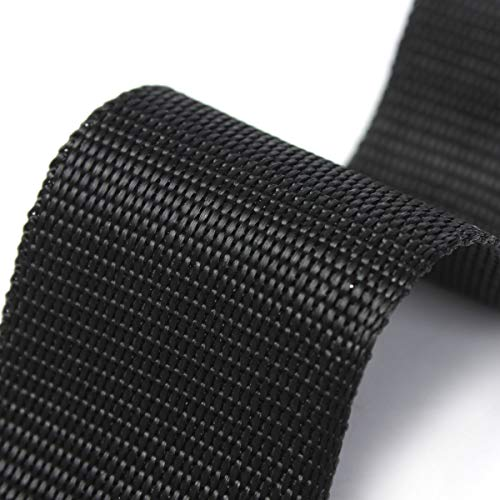 51NBOqpCkxL. SS500  - KING DO WAY Nylon Webbing Tape Multi-purpose For DIY Craft Backpack Strapping Apron Bunting Black 5cmx10m