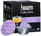 Bialetti 96080090/M Kaffee-Kapseln Milano, Alu, 16 Stück