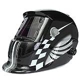 KUNSE Racing Track Automatische Verdunkelung Schweißen Helm Solar Schweißer Maske Elektrische Schweißen