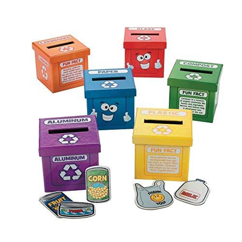 Aprender a reciclar cajas-Recursos Profesor de actividades y profesor Supplies