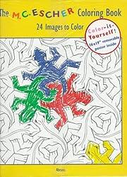 Escher Coloring Bk