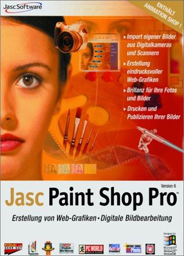 Paint Shop Pro 6 Bildbearbeitungssoftware