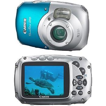 Canon Powershot D10 Fotocamera Digitale 12 7 Megapixel Colore Silver Blu Amazon It Elettronica