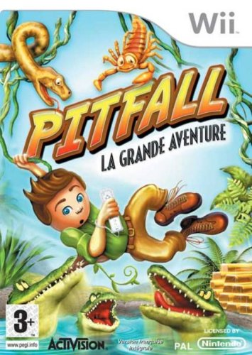 Preisvergleich Produktbild Pitfall La Grande Aventure - Nintendo Wii - FR