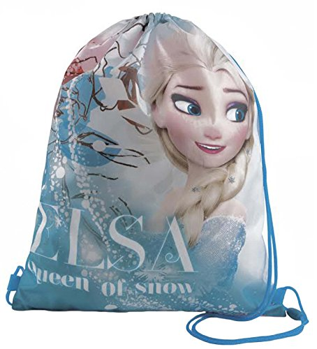 Kids Character Swimming Gym Pump Bag Sports School Drawstring Bag Girls Boys